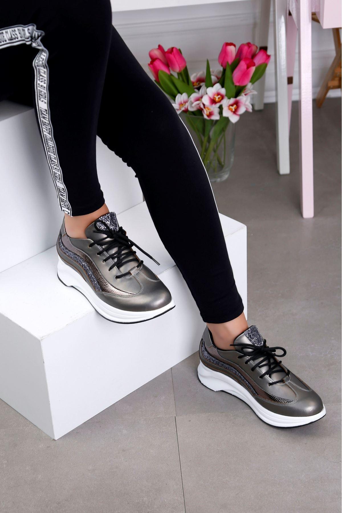 AIR Antrasit Spor Ayakkabı