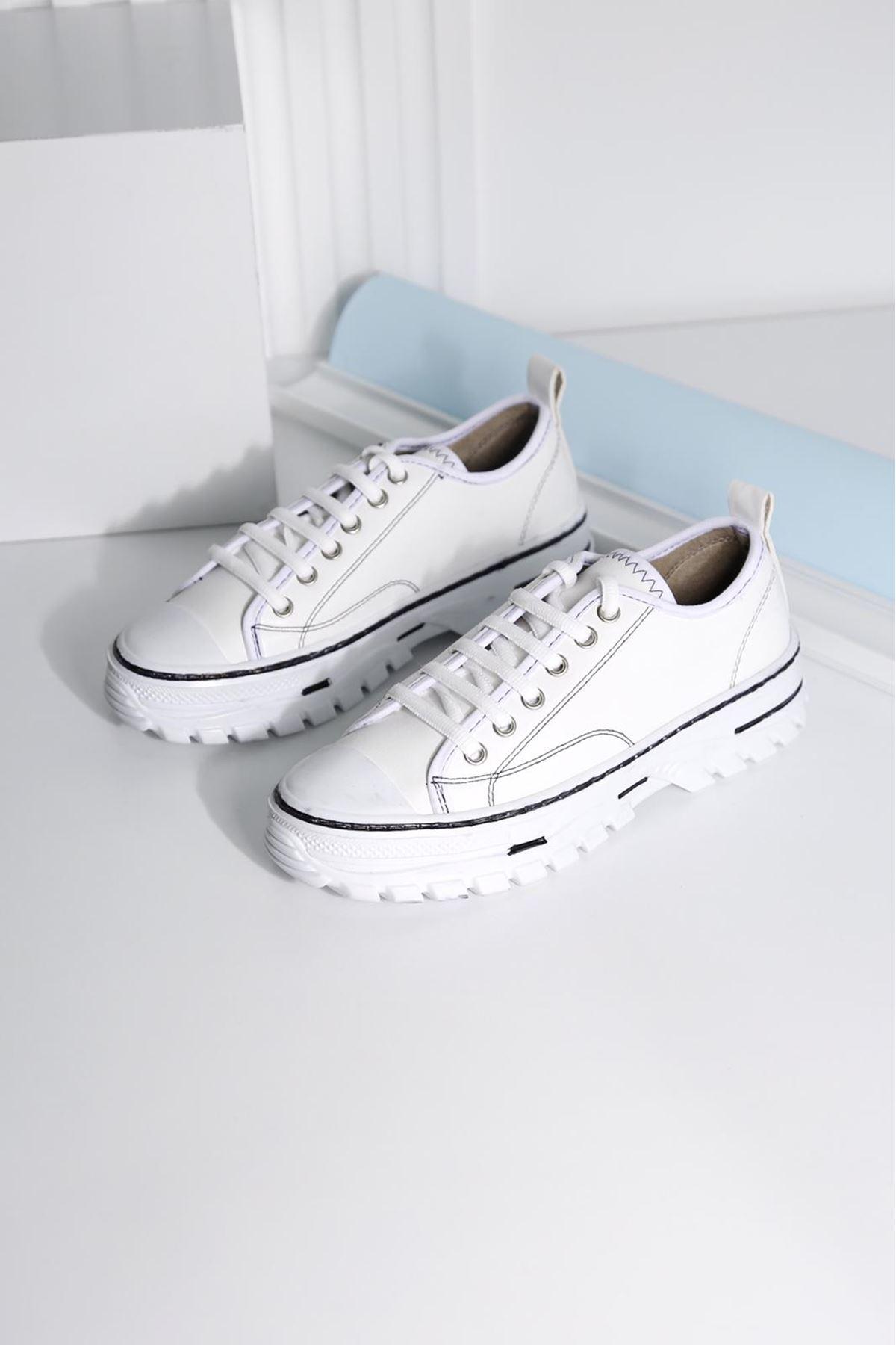 CRIX Kadın Beyaz Casual Ayakkabı