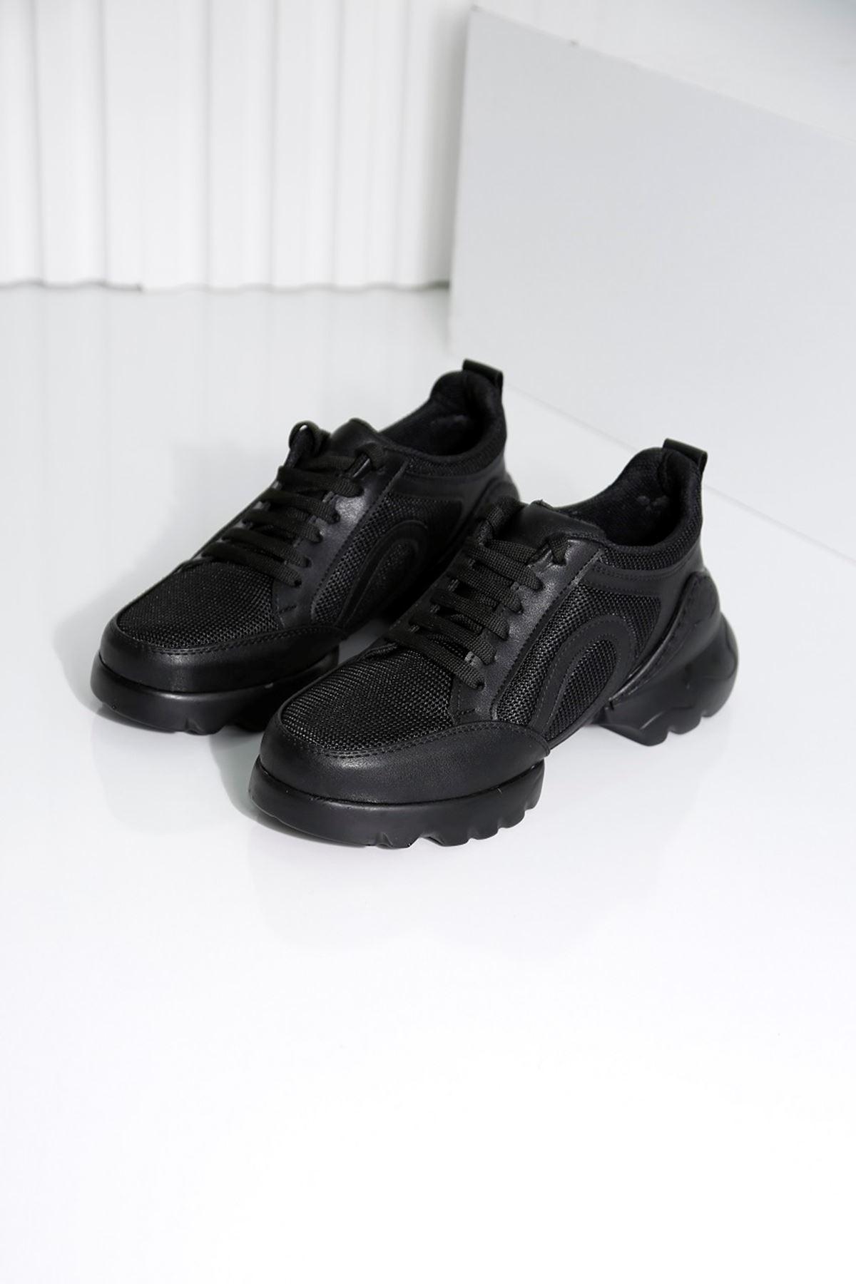 CHARİSMA Siyah Kadın Spor Ayakkabı