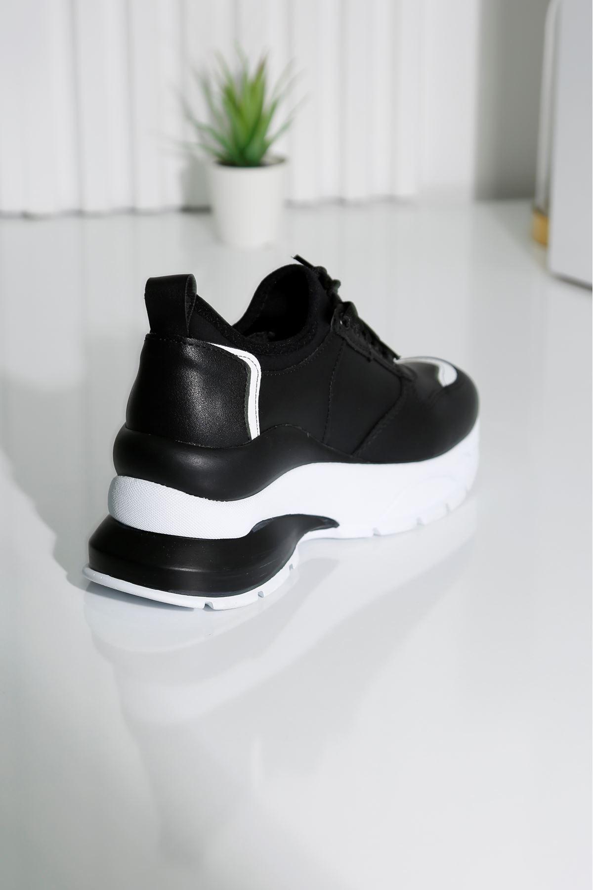 CHIC Siyah Kadın Spor Ayakkabı