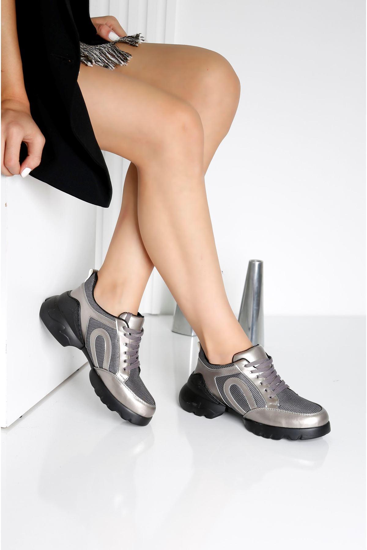CHARİSMA Antrasit Kadın Spor Ayakkabı