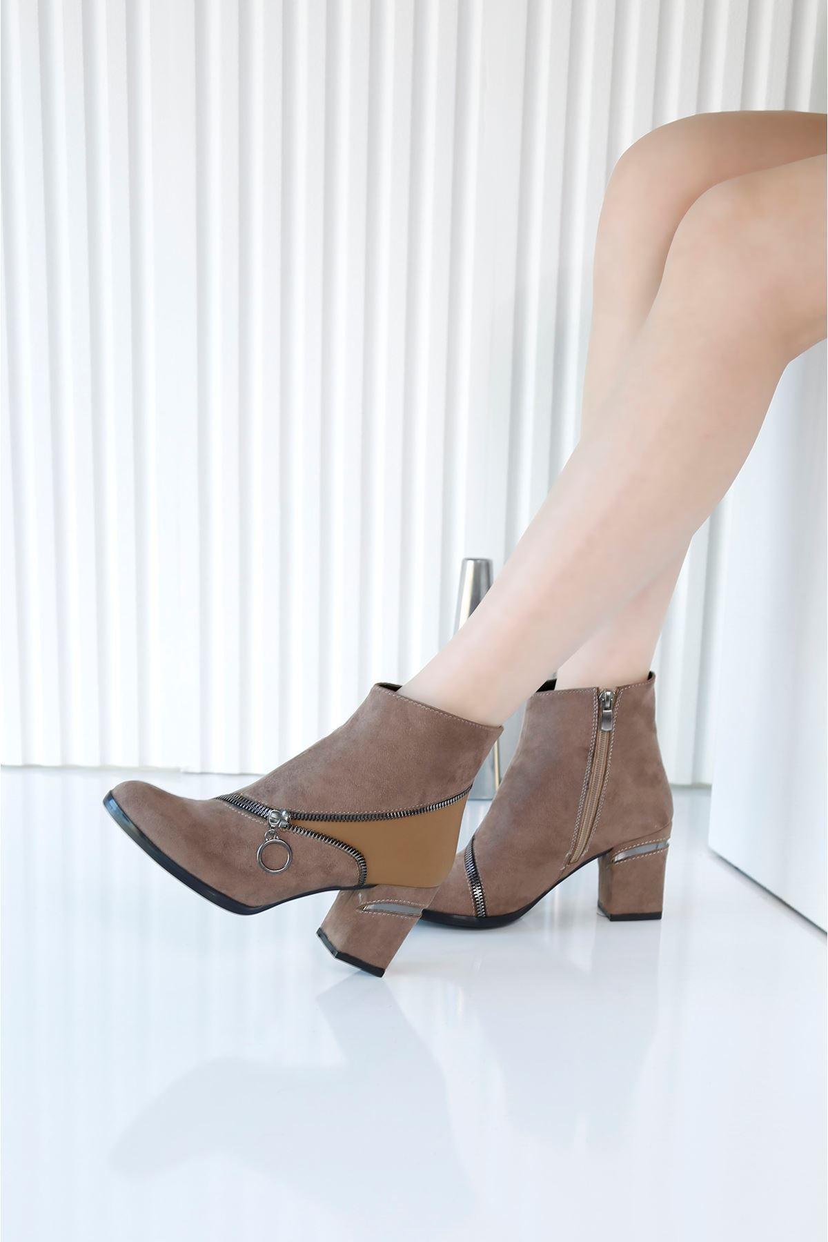 FINERY Vizon Topuklu Kadın Bot