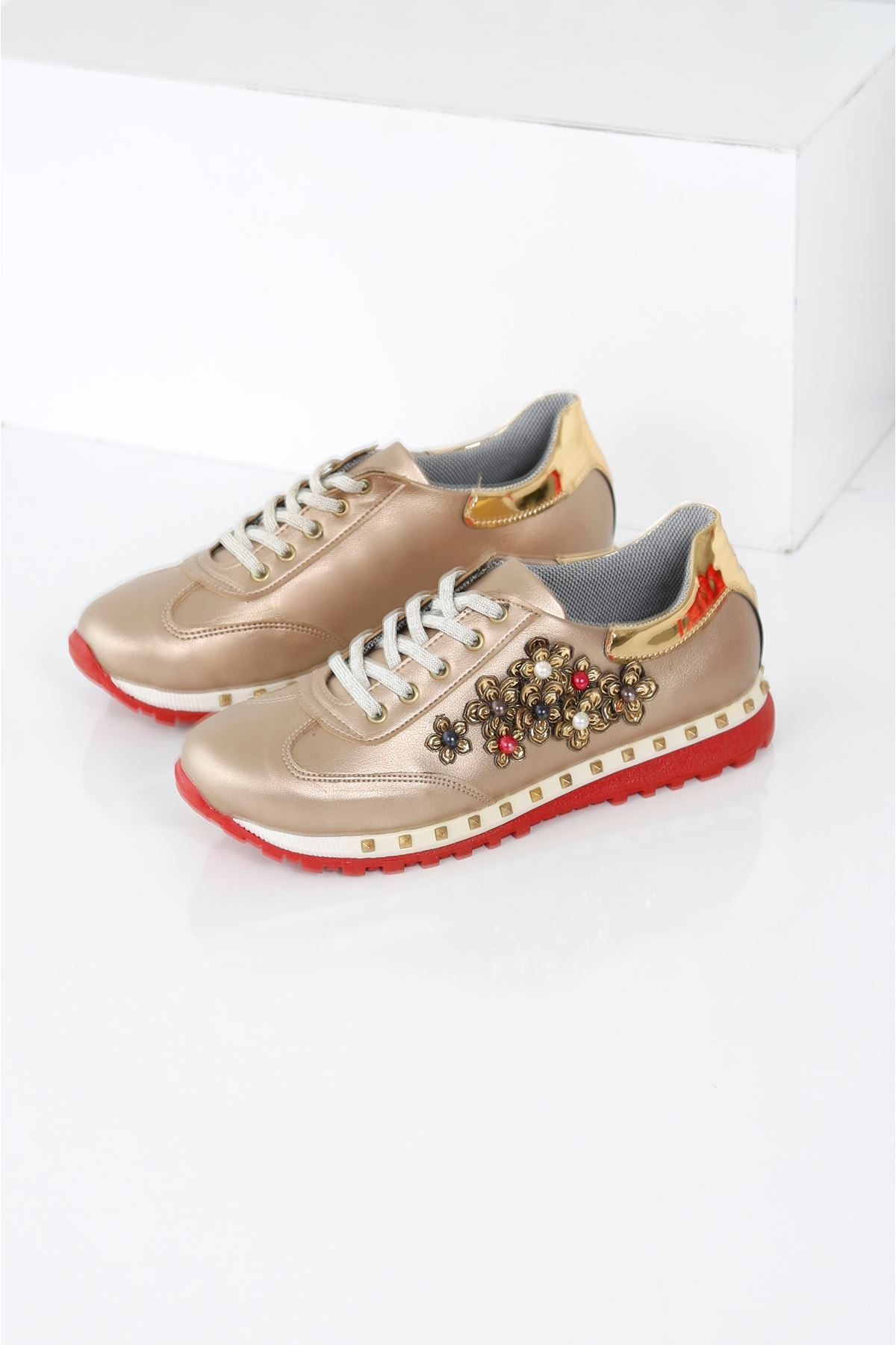GLOW Gold Spor Ayakkabı