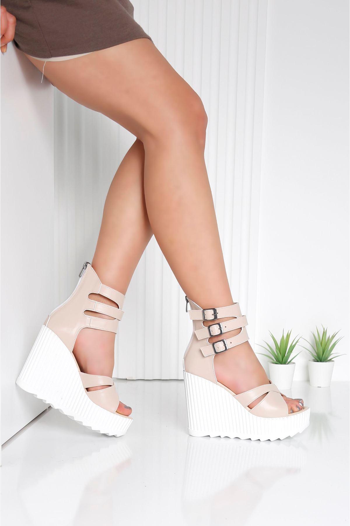 Alto Nude Kadın Platform Ayakkabı