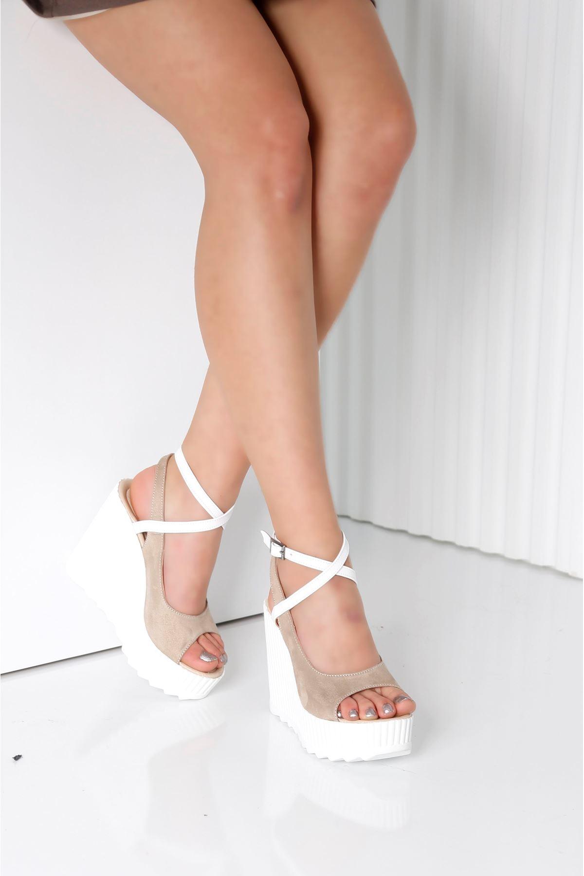 CLARIS Vizon Kadın Platform Ayakkabı