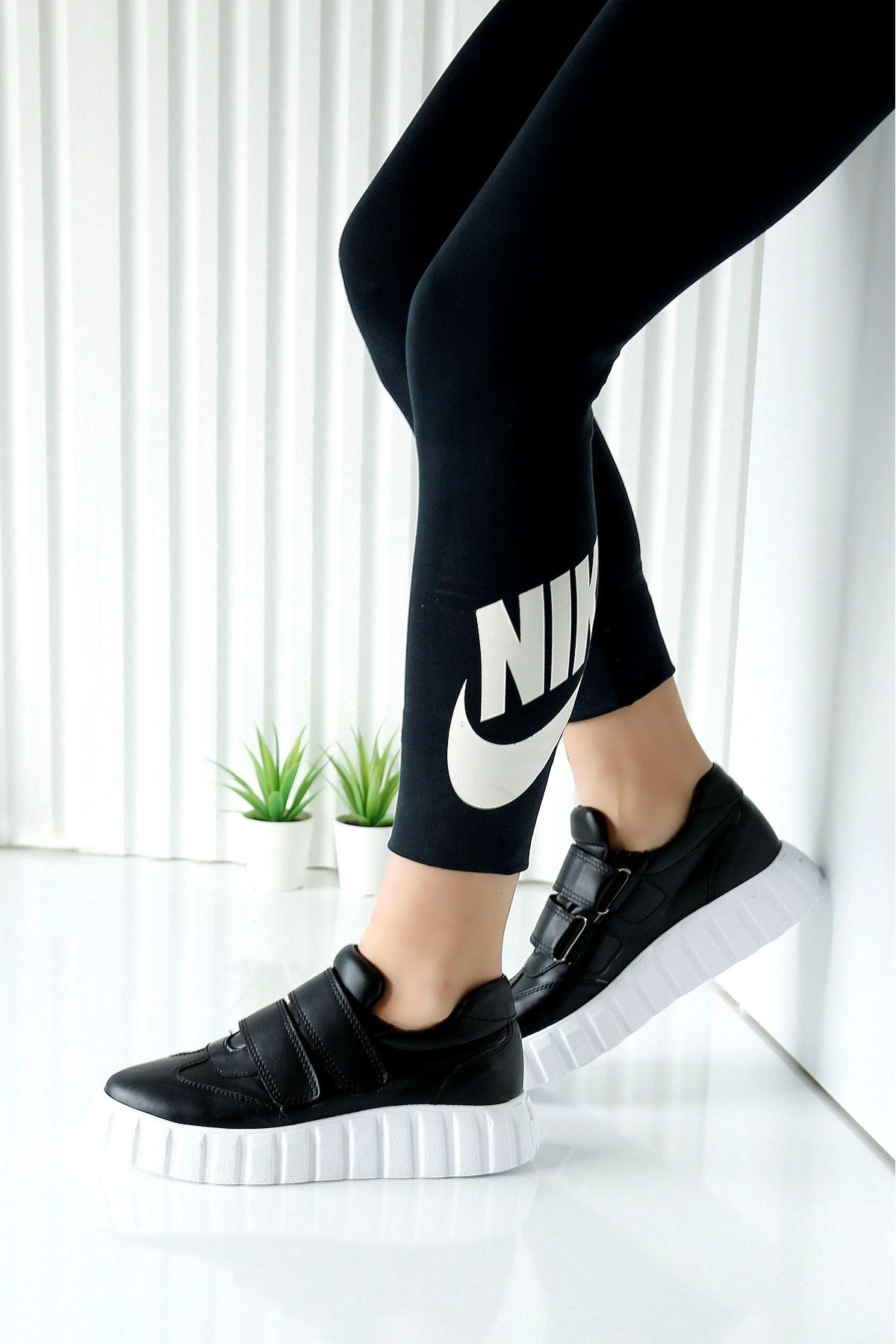 PLUME Siyah Kadın Spor Ayakkabı