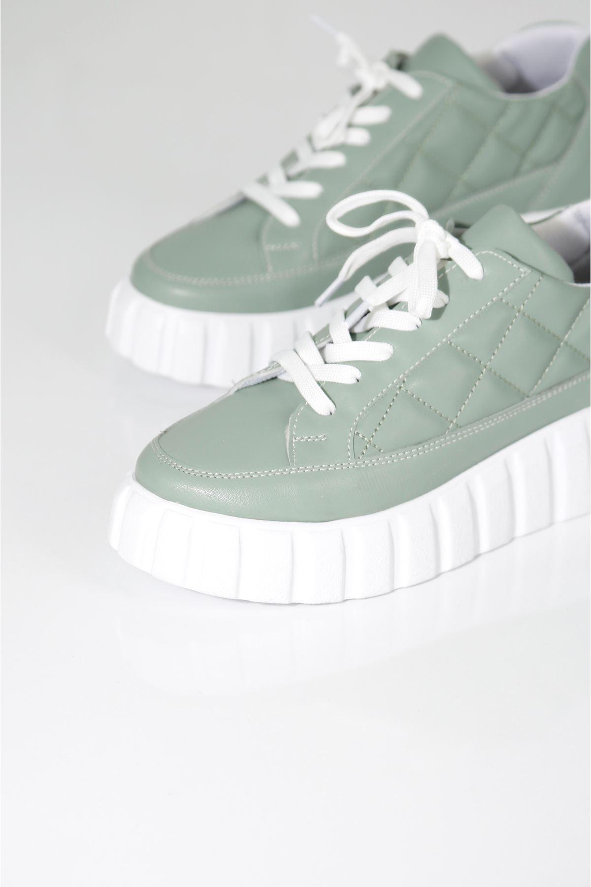 SOFT Mint Yeşili Kadın Spor Ayakkabı