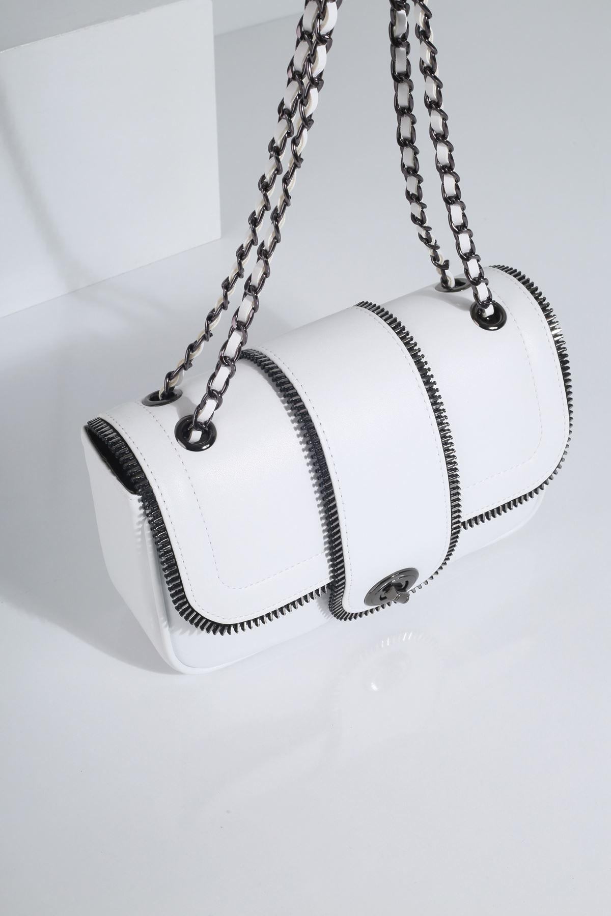 SWEY Beyaz Kadın Çanta