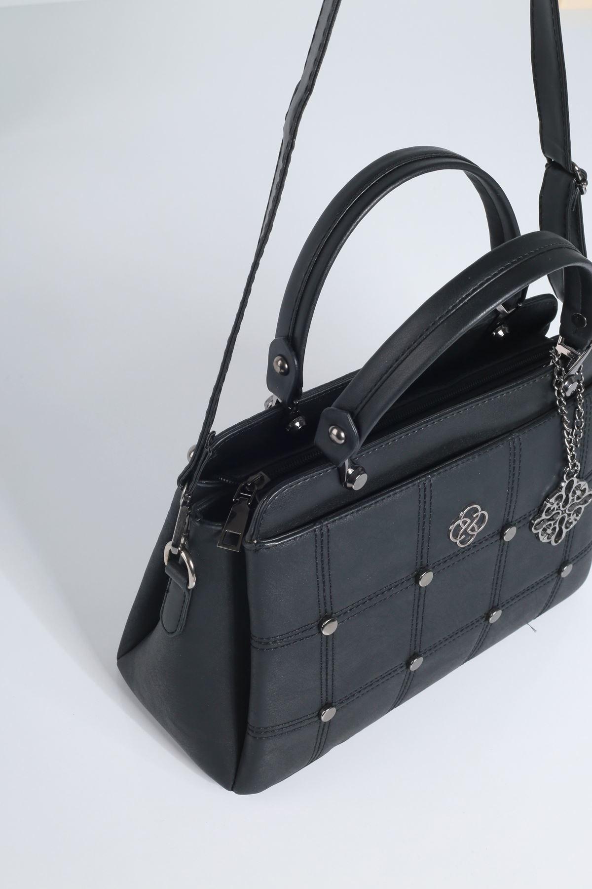 BICERY Siyah Kadın Çanta