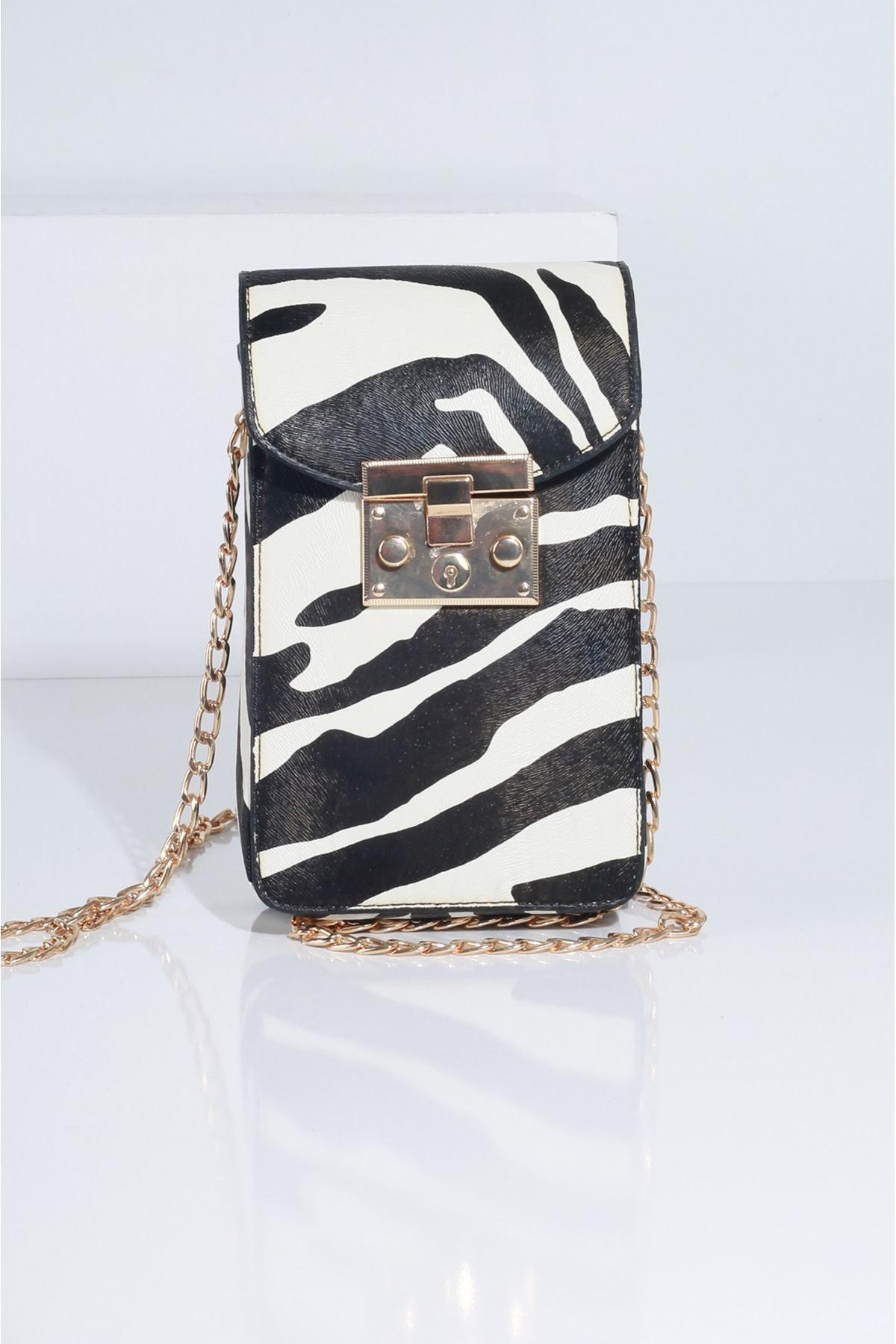 DOVO Zebra Kadın Çanta