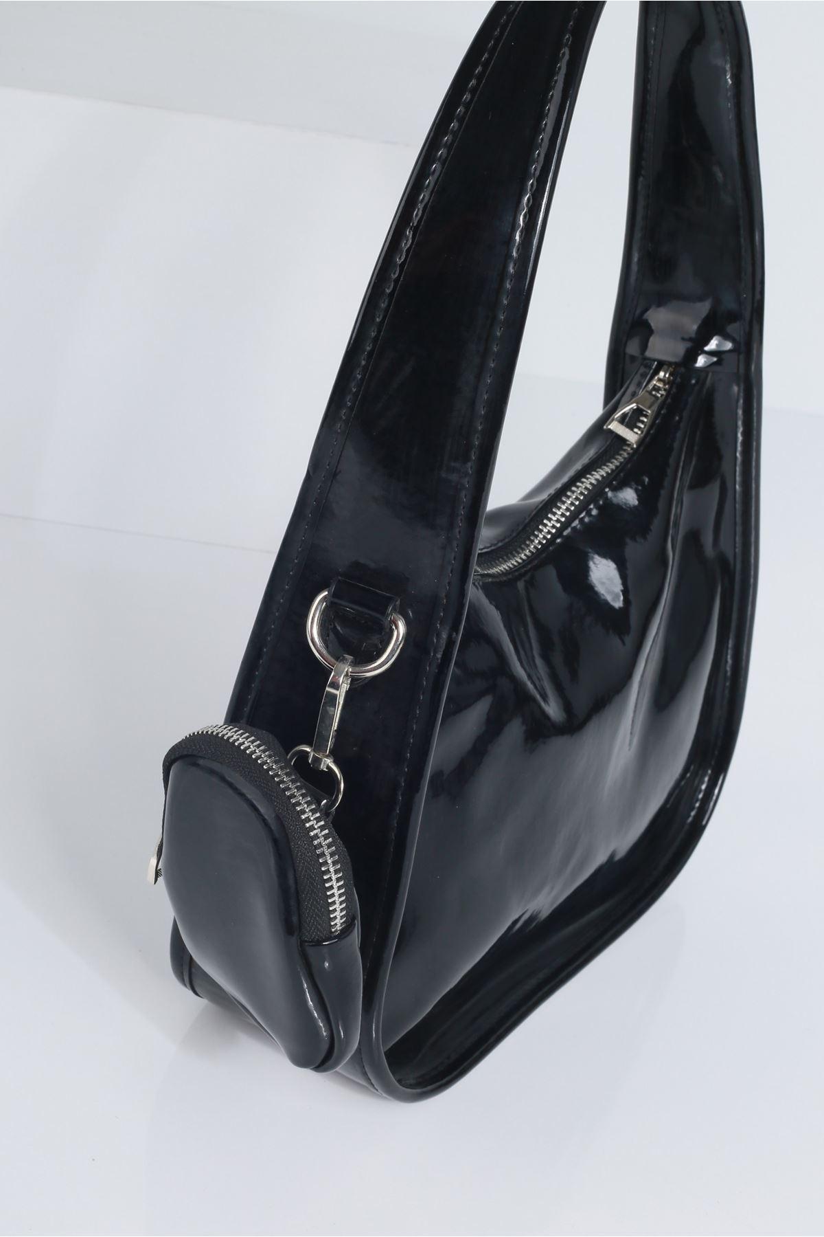 JENNT Siyah Rugan Kadın Çanta